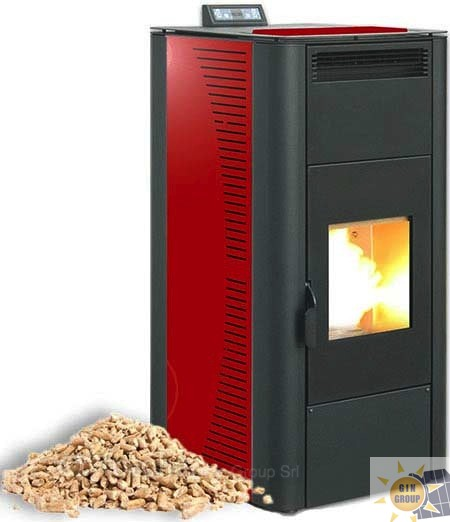 termostufa a pellet rossato circe 24 | gin group