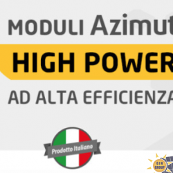 MODULI FOTOVOLTAICI MADE IN ITALY AD ALTA EFFICIENZA