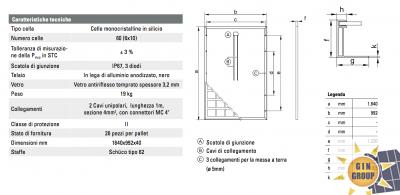 Moduli fotovoltaici della serie Vitovolt 300