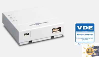 Controllo remoto tramite interfaccia Vitoconnect 100