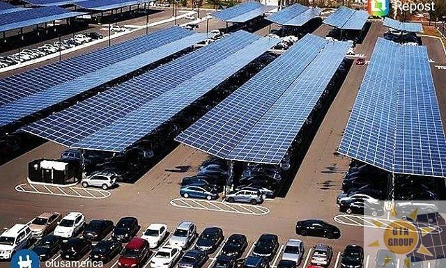 Parcheggi fotovoltaici per aziende, centri commerciali, grande distribuzione.