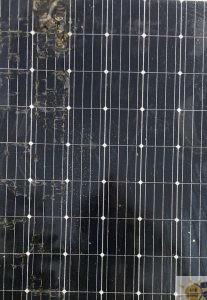 moduli fotovoltaici danneggiati