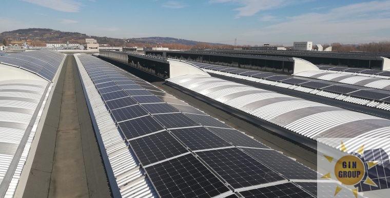 Impianto fotovoltaico da 975 Kw
